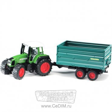 Трактор Fendt Favorit 926 Vario с прицепом  Bruder