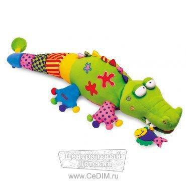 Игрушка на руку крокодила своими руками