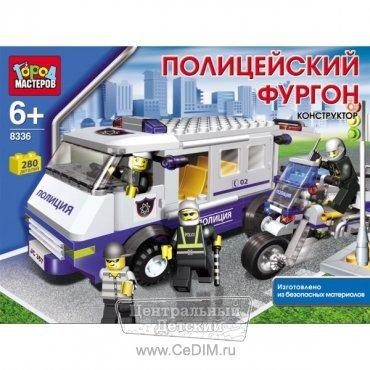 город мастеров полицейский мотоцикл #10
